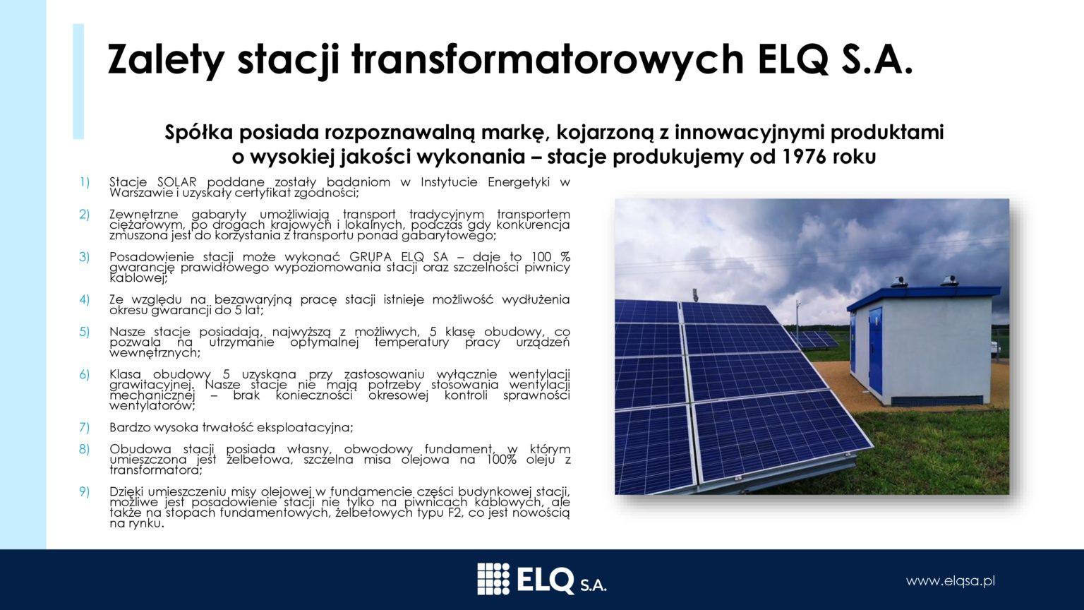 Zalety iprzewaga konkurencyjna ELQ2